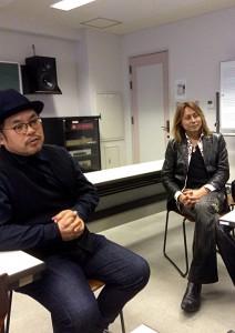 中西先生と川村先生